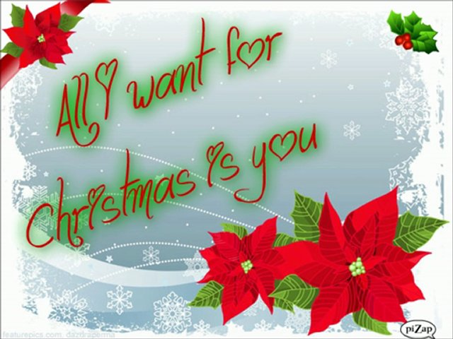 "Mariah Carey ~ ""  All I Want For Christmas Is You "" ♥ W/Lyrics"