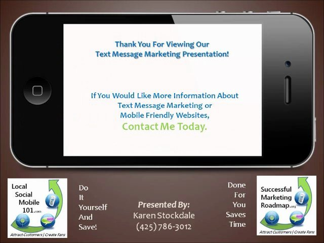 SMS Text Message Marketing | Smart Mobile Marketing Strategy