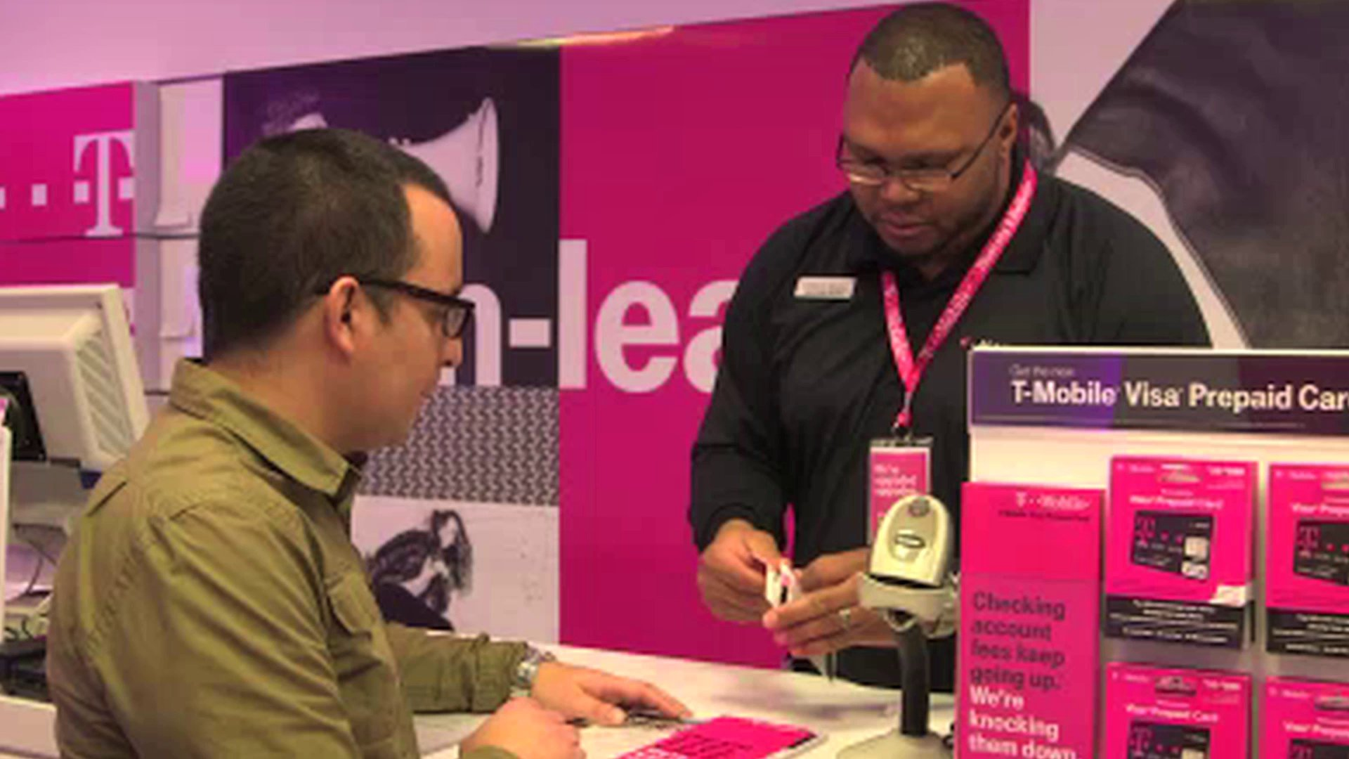 "T-Mobile says no to banking fees but ""Show me the money"""