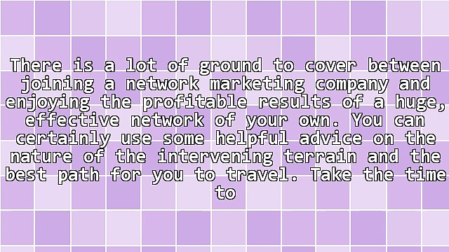 Take Your Business To A New Level With Successful Network Marketing Tips