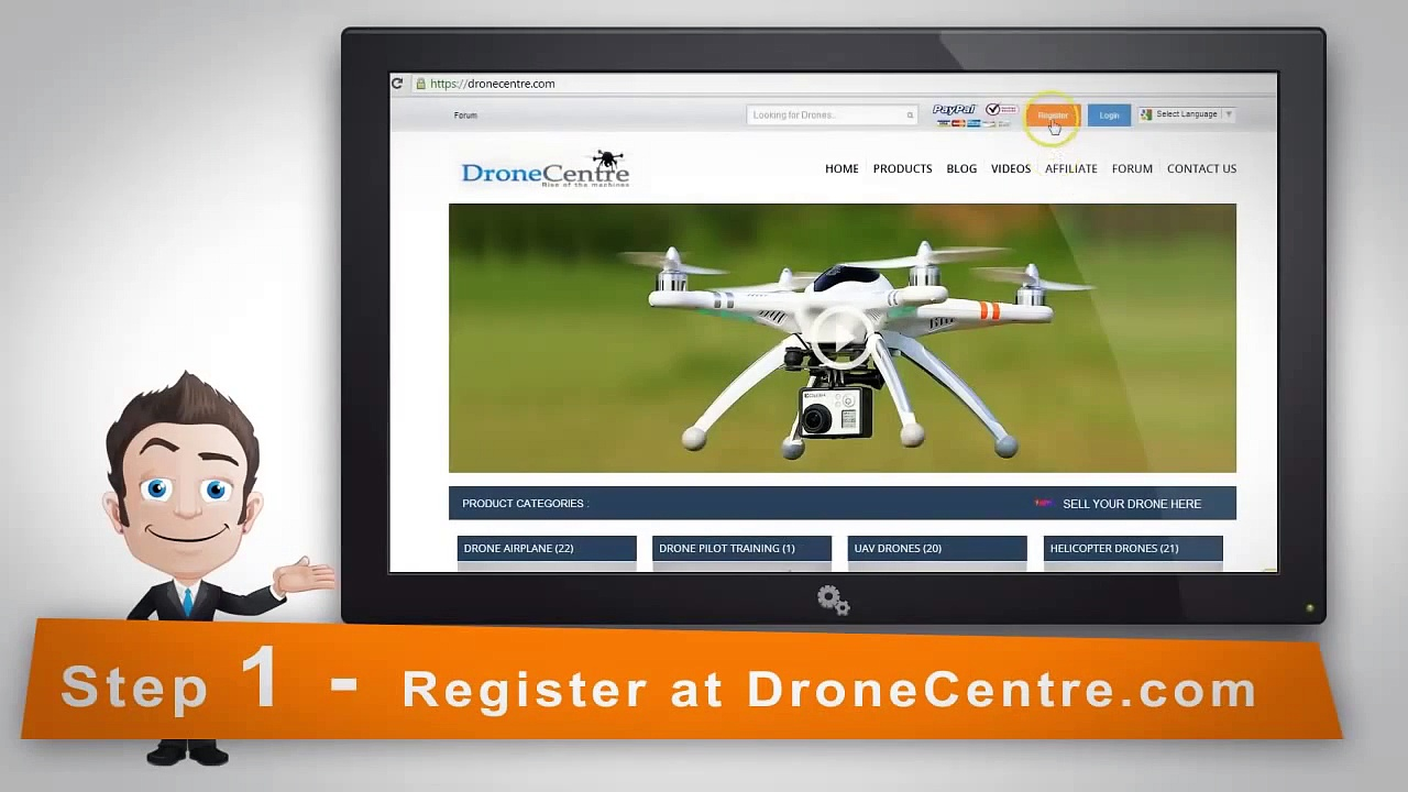 Big Commission Affiliate Programs –  DroneCentre.com High Ticket Affiliate Program