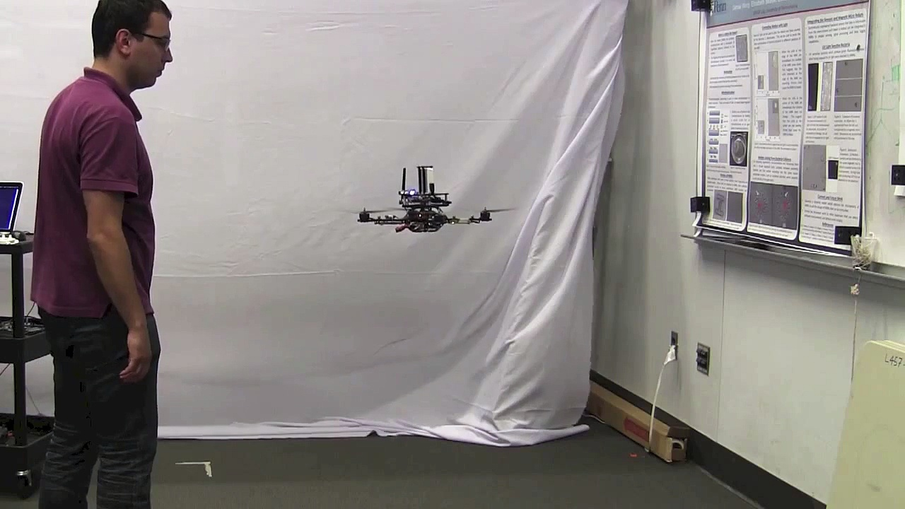 Smart Phones Power Flying Robots