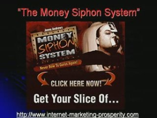 Money Siphon System for Affiliate Marketing