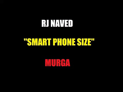 RJ NAVED – Radio MIRCHI – What an insult of BIG Smart Phones =)