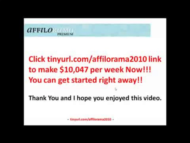 Affilorama Affiliate Marketing Training   ,Make Money Fast