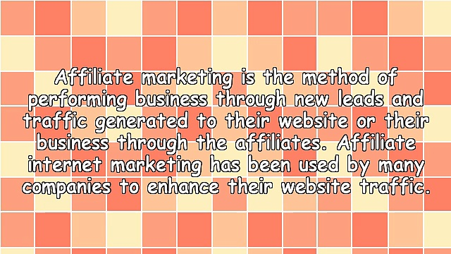 The Ins and Outs of Affiliate Internet Marketing