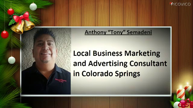Colorado Springs Tony Semadeni – Anthony Semadeni – Local Business Marketing and Advertising Consultant..
