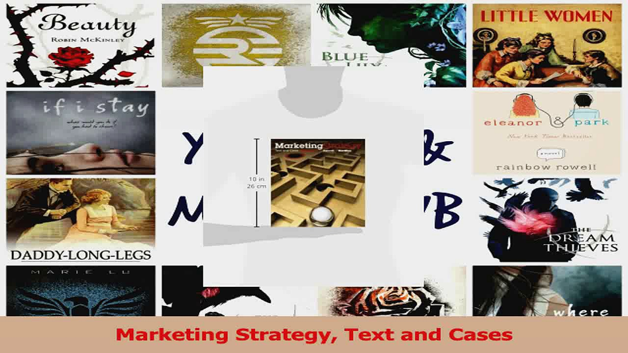 PDF Download  Marketing Strategy Text and Cases Download Full Ebook