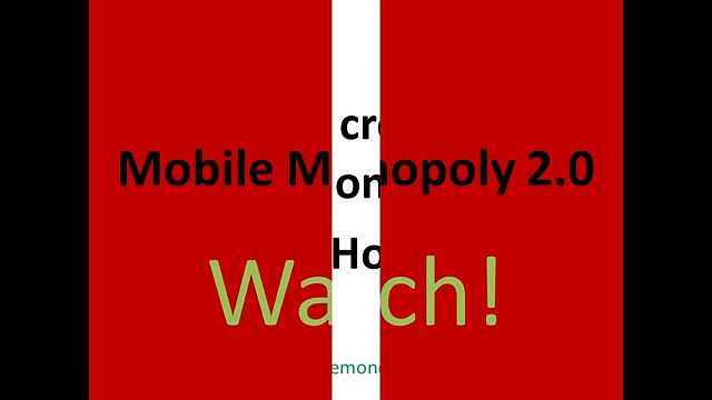 Mobile Monopoly 2.0 – Make Money With Mobile Monopoly 2.0