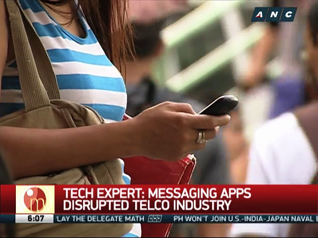 Bye text message in PH? Expert weighs in as messaging apps surge