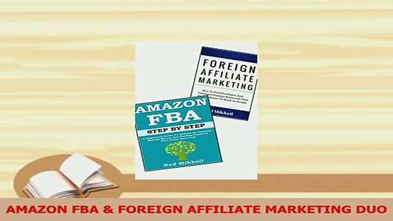 PDF  AMAZON FBA  FOREIGN AFFILIATE MARKETING DUO Download Full Ebook