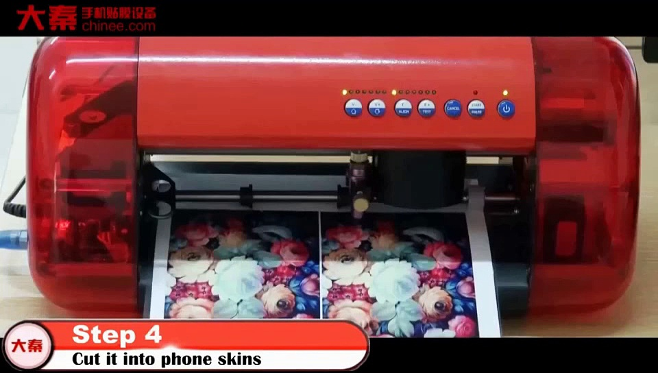 Machines for produce Samsung Galaxy S6 Edge sticker for mobile phones?