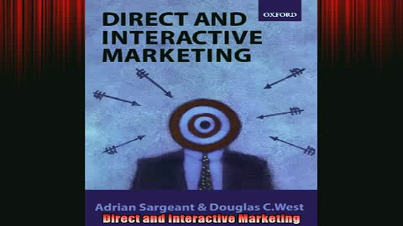 READ book  Direct and Interactive Marketing READ ONLINE