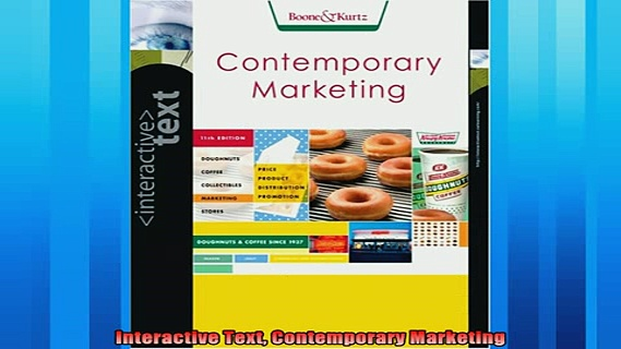 Pdf Download  Interactive Text Contemporary Marketing
