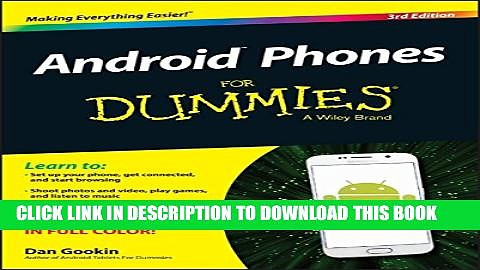 [PDF] Android Phones For Dummies Full Collection
