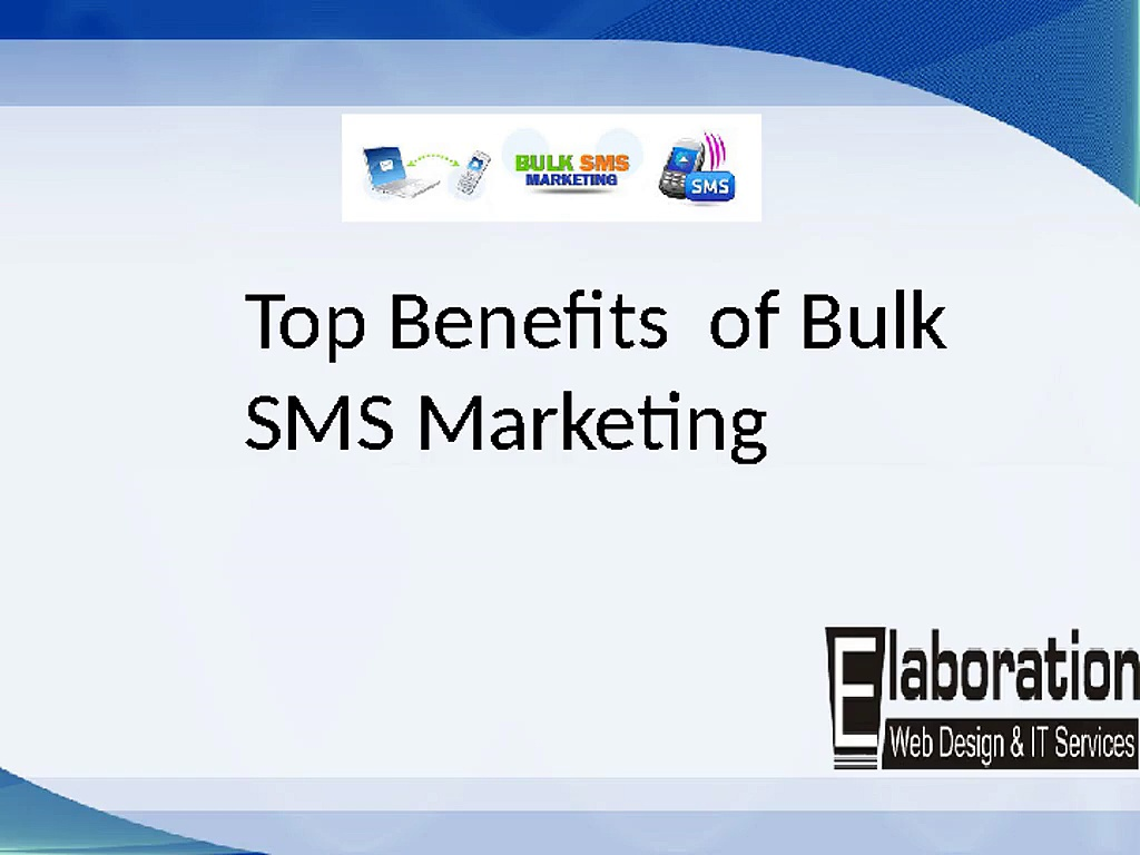 Bulk SMS Marketing Service Provider in India