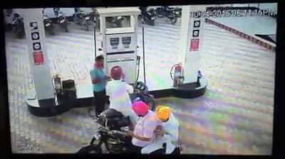 Don't use your mobile phone at petrol pump