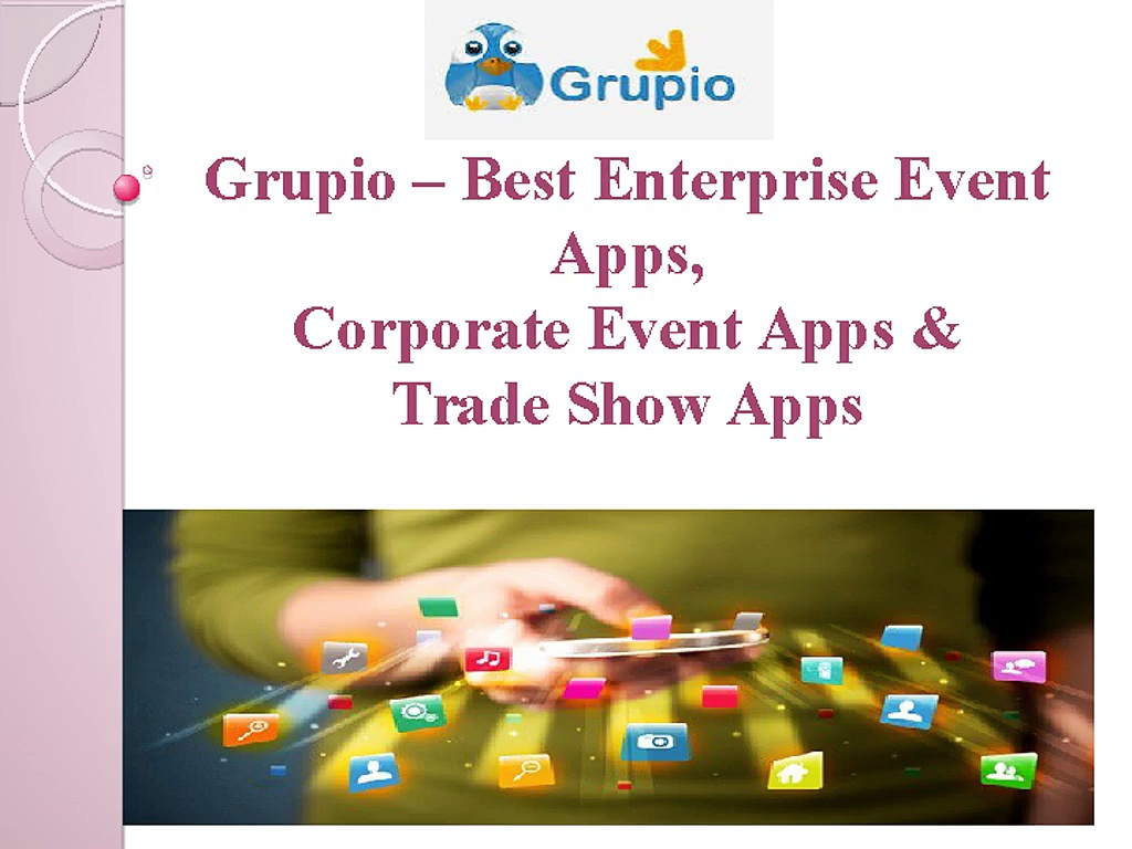 Professional mobile events apps – Enterprises , Corporate, trade show apps