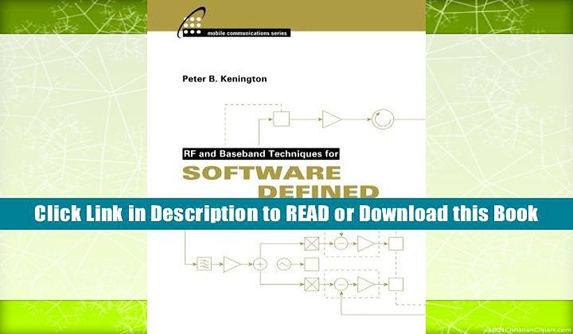 PDF Rf and Baseband Techniques for Software Defined Radio (Artech House Mobile Communications) BY