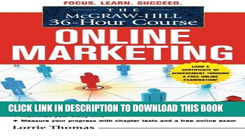 New Book The McGraw-Hill 36-Hour Course: Online Marketing