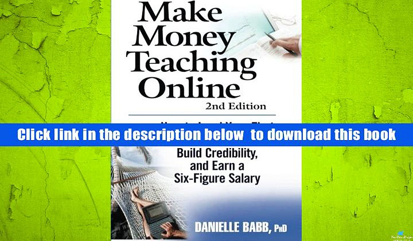 Download [PDF]  Make Money Teaching Online Danielle Babb Full Book