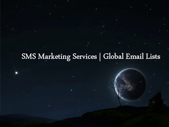 SMS Marketing Services – Global Email Lists