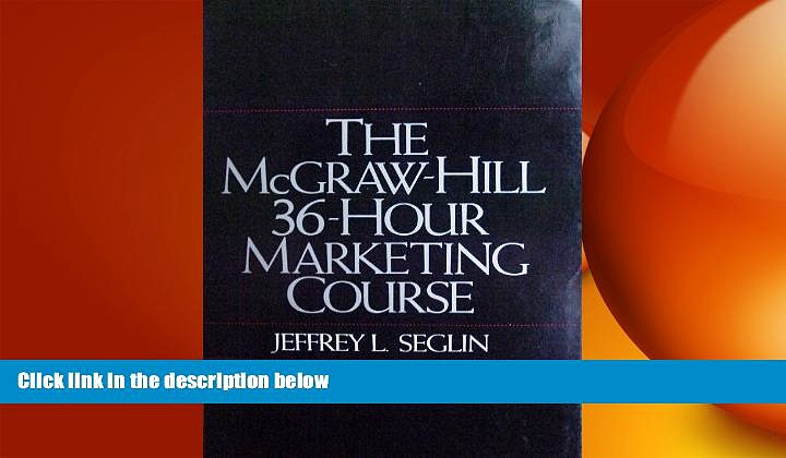READ book  The McGraw-Hill 36-Hour Marketing Course  FREE BOOOK ONLINE