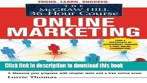 PDF The McGraw-Hill 36-Hour Course: Online Marketing (McGraw-Hill 36-Hour Courses)  PDF Online