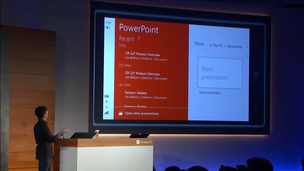 Word, Excel and PowerPoint apps now available