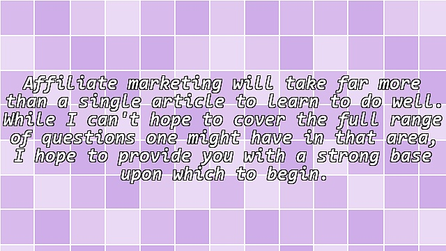 Absolute Beginner's Guide to Affiliate Marketing