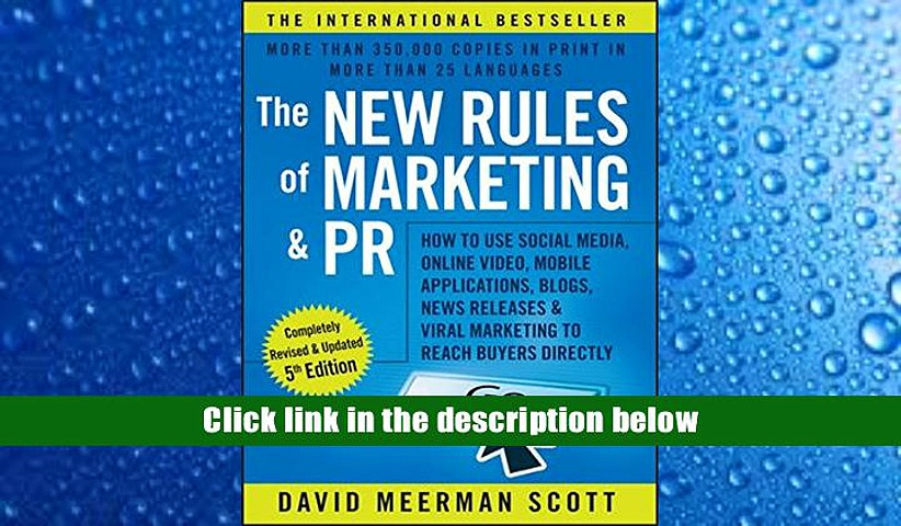 Audiobook  The New Rules of Marketing   PR: How to Use Social Media, Online Video, Mobile