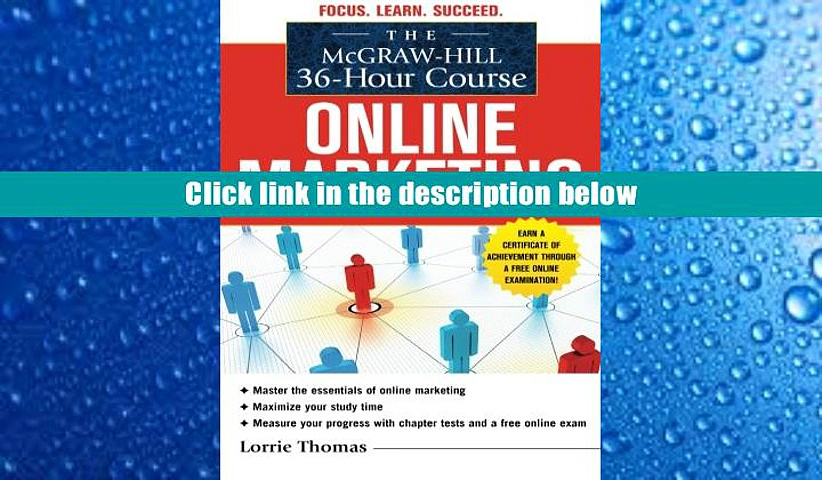 Audiobook  The McGraw-Hill 36-Hour Course: Online Marketing (McGraw-Hill 36-Hour Courses) Lorrie