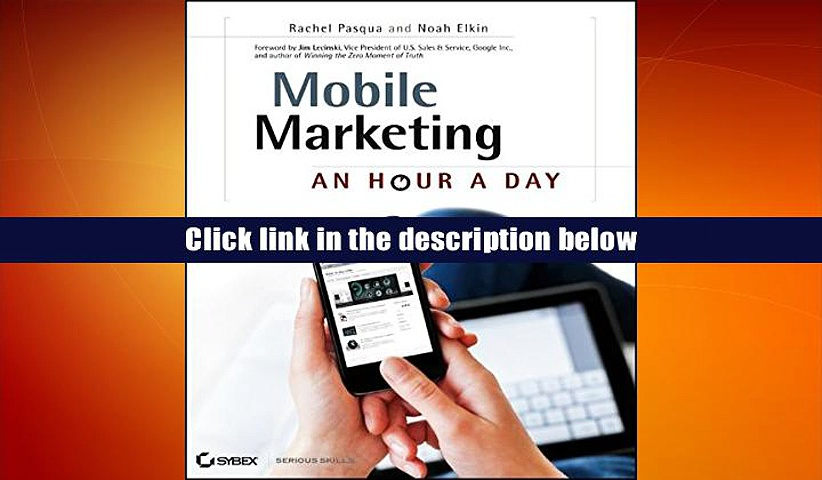 [Download]  Mobile Marketing: An Hour a Day Rachel Pasqua For Ipad