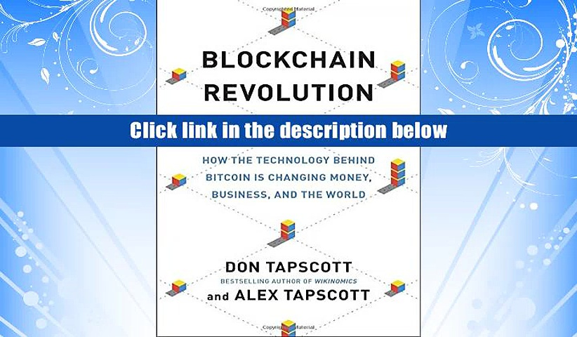 PDF  Blockchain Revolution: How the Technology Behind Bitcoin Is Changing Money, Business, and the
