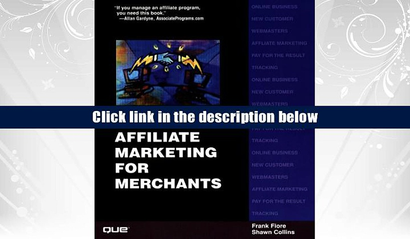 PDF [Download]  Successful Affiliate Marketing for Merchants  For Full