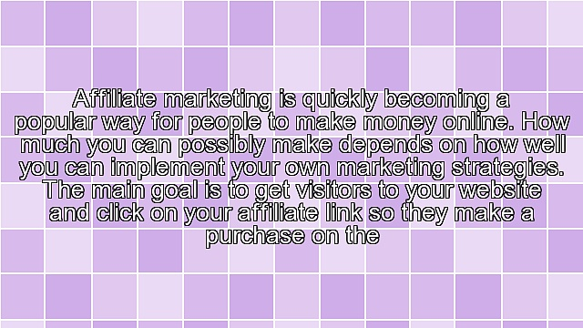 Developing Your Business In Affiliate Marketing