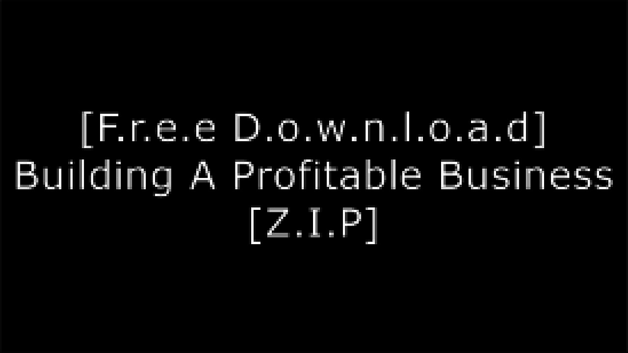 [Iagz3.[FREE] [DOWNLOAD]] Building A Profitable Business by Adams Media TBD W.O.R.D