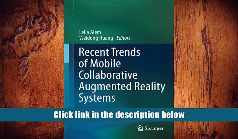 PDF  Recent Trends of  Mobile Collaborative Augmented Reality Systems  For Ipad