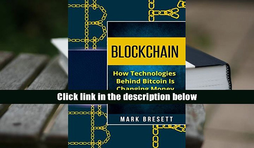BEST PDF  Blockchain: How Technologies Behind Bitcoin Is Changing Money and Business [DOWNLOAD]