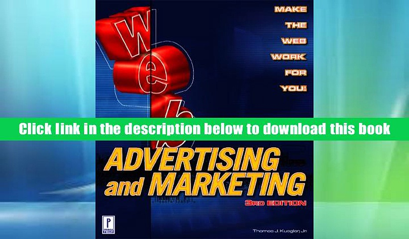 Ebook Online Web Advertising and Marketing, 3rd Edition  For Free