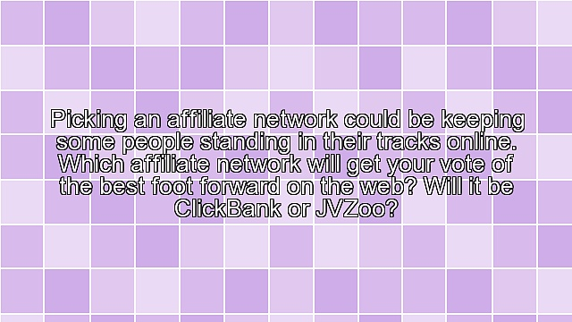 ClickBank or JVZoo for Affiliate Marketing?