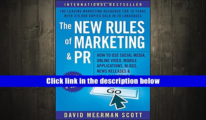 Audiobook  The New Rules of Marketing and PR: How to Use Social Media, Online Video, Mobile