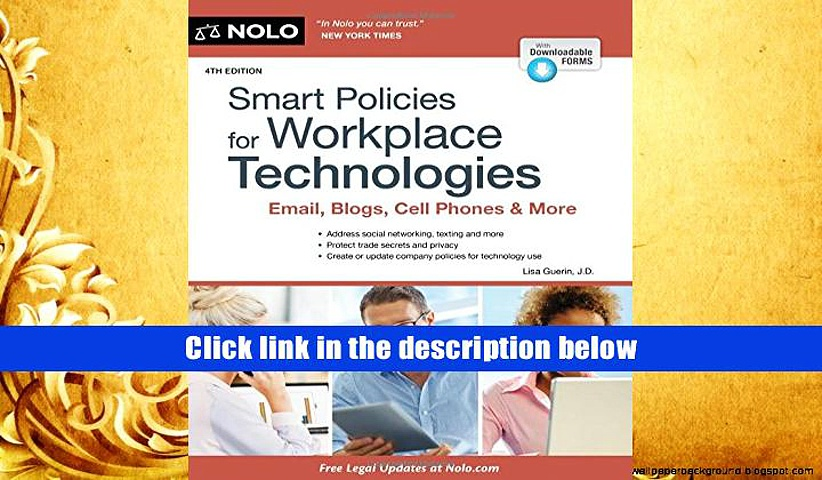 Audiobook  Smart Policies for Workplace Technologies: Email, Social Media, Cell Phones   More