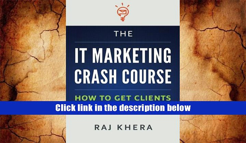 Read Online  The IT Marketing Crash Course: How to Get Clients for Your Technology Business Raj