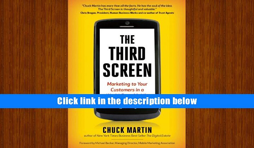 PDF [FREE] DOWNLOAD  The Third Screen: The Ultimate Guide to Mobile Marketing TRIAL EBOOK
