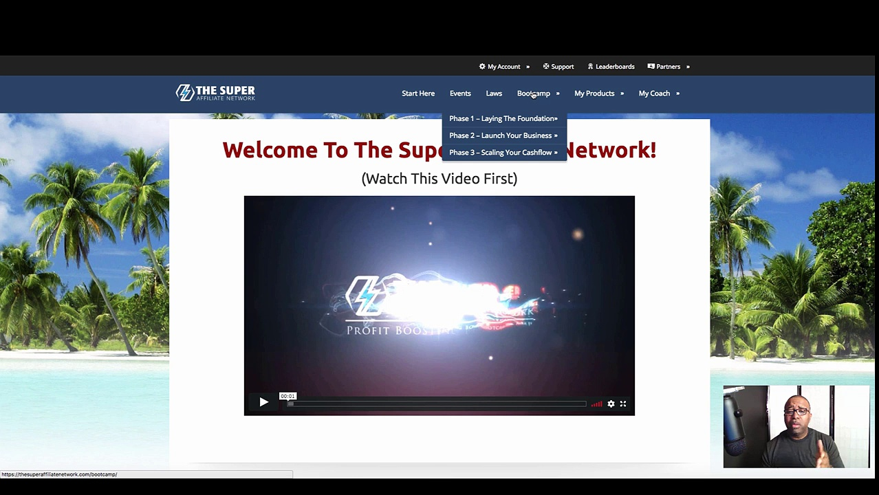 The Super Affiliate Network Testimonial | learn More About The Super Affiliate  Network