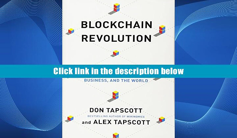 Audiobook  Blockchain Revolution: How the Technology Behind Bitcoin Is Changing Money, Business,