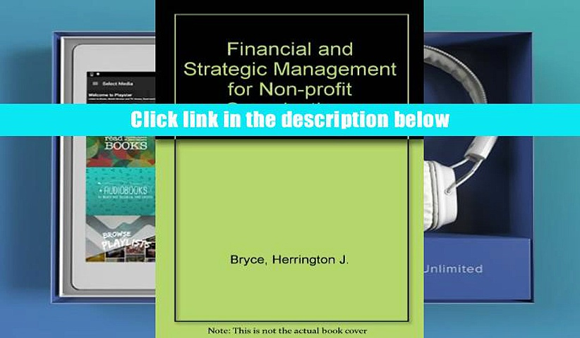 FREE [PDF] DONWLOAD Financial and Strategic Management for Non-profit Organizations DOWNLOAD ONLINE