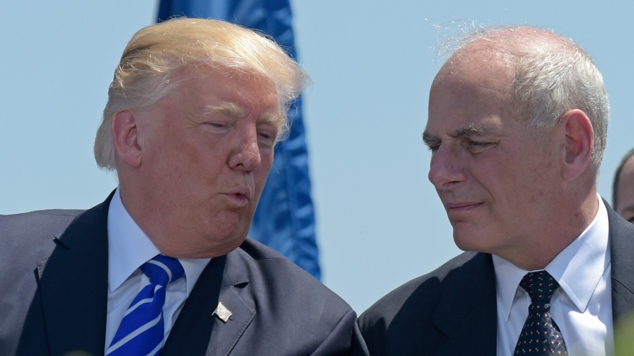John Kelly Is Losing Fight With Trump's Twitter Feed