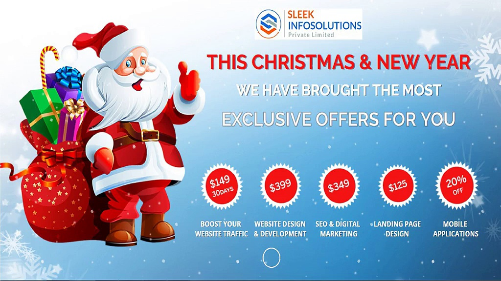 Christmas & New Year Offer | Sleekinfosolutions